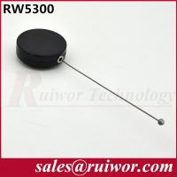China Round Anti Theft Retractable Steel Cable For Product Positioning 18.6 Gram Per Piece wholesale