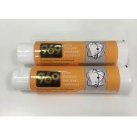Buy cheap Whitening Toothpaste Plastic Tube Package With Big Flip Top Cap , DIA40*138mm from wholesalers