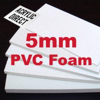China 5mm High Density Foam Board ,  PVC Soundproof Foam Board For Printing Usage on sale