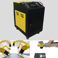 Buy cheap 200W Laser Rust Removal Portable Single Phase 200W Fiber Laser Cleaning Machine from wholesalers