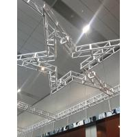 China Silver Aluminum Circle Truss 300*300 9m Size For Indoor Show And Events wholesale