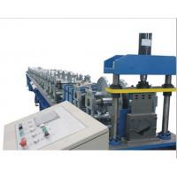 China PLC Control Gutter Forming Machine Hydraulic Cutting For Rainwater Round Gutter wholesale