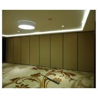 China Laminate Movable Partition Wall , Full High Operable Sliding Room Partitions wholesale