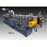 China Compounding Twin Screw Extruder 75mm , Wide Application Twin Screw Extruder wholesale