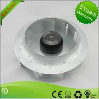 China Steel Brushless DC Centrifugal Fan , Backward Inclined Centrifugal Fan Air Blower wholesale