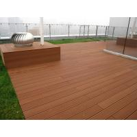 China Easily installed wpc outdoor flooring,composite decking, waterproof wpc decking wholesale