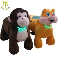 China Hansel amusement park electric scooter plush animal coin toy ride on sale