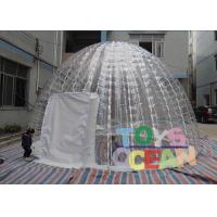 China Transparent Bubble Inflatable Tents 3 Man Backpacking For Adults Outdoor Camping wholesale