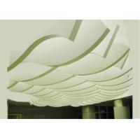 Quality Modern Hyperbolic Aluminium Cladding Panels PVDF Coating For Cladding / Ceiling for sale