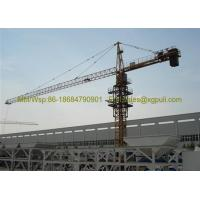 Quality Small Construction Crane , Hammerhead Tower Crane For Heavy Lifting for sale