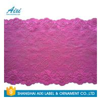 Buy cheap Nylon Stretch Lace Embroidery Lingerie Lace Fabric For Underwear Dress Garments from wholesalers