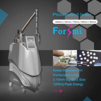 Quality Best picosure picosecond tattoo removal with 755nm 650nm 585nm 1064nm 532nm multi wavelength for sale