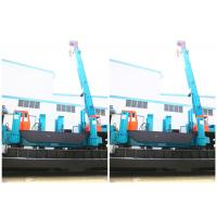 China Driven Pile Machine ZYC280 1.8m Piling Stroke Eco - Friendly Feature With No Noise wholesale