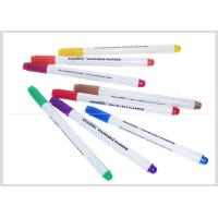 China Multi-Color Washable Fabric Whiteboard Marker Pens 1.0mm Fiber Tip For Temporary Drawing #WM10 wholesale