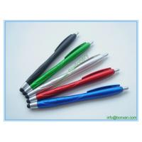 China plastic stylus touch pen, newly design phone screen touch ball pen wholesale