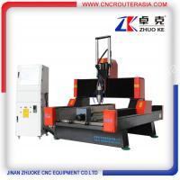 China hybrid servo system stone engraver for marble granite ZK-9015 900*1500mm on sale