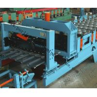 China Glazed Roof Sheet Forming Machine Automatic Hydraulic Glazed Tile Roll Forming Machine / Roofing Tile Process Line wholesale