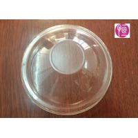 China 16oz  Ice Cream Disposable Plastic Lids For Frozen Yogurt  / 5.0g In BOPS Material wholesale