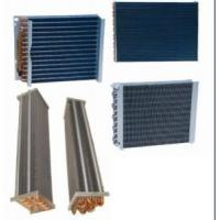 Flat Sheet Copper Finned Pipe Heat Exchanger Commercial 110 - 120 Voltage