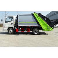 China Mini 3 Ton Compactor Small Garbage Truck Euro 3 Engine Power 90-150HP on sale