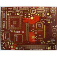 China FR4 tg170 6 Layer HASL / Lead free HASL Immersion Gold HDI Multilayer PCB with Red Mask wholesale