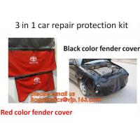 China Car Fender Covers Protect Paintwork Magnetic Wing Bonnet Paint Auto Repair, Wholesale New Design Car Magnetic Fender Cov wholesale