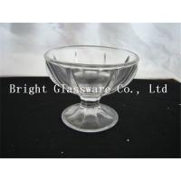 China 7oz glass ice cream bowl, glass cup sale wholesale