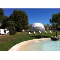 China 6m Diameter Small Geodesic Dome Tent For Home , Party , Reception wholesale
