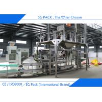 China SGJ- ZX Semi Auto Packing Machine Easy Operating Auto Conveying Sewing Machine on sale