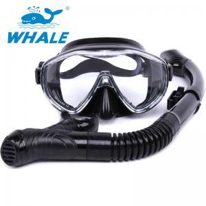 China High Performance Anti Fog Diving Snorkel Set , Diving Mask And Snorkel Sets For Men wholesale