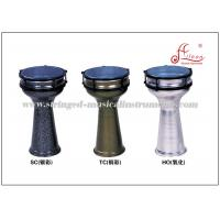 China Aluminum Turkish Darbuka Percussion Musical Instruments Color Powder Coated on sale