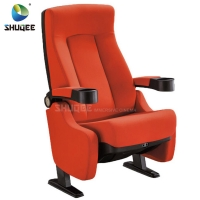 China Hot Selling Home Theater Seating Modern Design Cinema Chair With Cup Holder wholesale