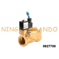 China 2'' 0927700 Normally Closed Diaphragm Pilot Operated Brass Industrial Water Solenoid Valve on sale