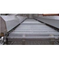 China Stainless Steel Metal Conveyor Belts Spiral Link For Roasting Pizza Oven wholesale