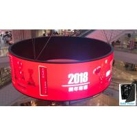 China P2.5 P3 P4 Indoor Soft Rubber Flexible Fixed LED Video Display LED Panels Tvs Wall with Any Angle / Size wholesale
