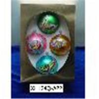 China Personalized Glass Ball Ornaments wholesale
