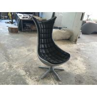 Buy cheap Black Animal Fiberglass Arm Chair / Living Room Mermaid Tail Chairs from wholesalers