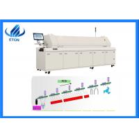 China High Accuracy PCB Reflow Oven UPS Power Protection 1 Year Warranty HT-R8 on sale