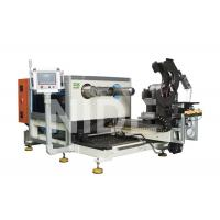 China Coil Expanding And Stator Winding Inserting Machine , Two Working Stations wholesale