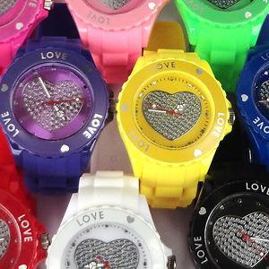 Silicone Charm Slap Watch (JS-2049)