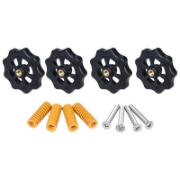 Buy cheap Yellow 8mm*4mm*25mm 3D Printer Springs Ender3 Hand Nut Screw M4 Leveling Kit from wholesalers
