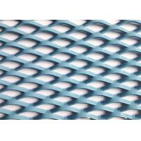 China Aluminium Expanded Metal Wire Mesh Diamond Hole For House Window Wall Decor wholesale