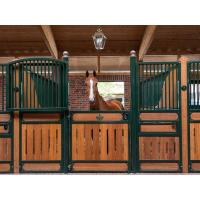 Buy cheap Steel Q235 Small Horse Portable Stalls With 20mm 28mm 30mm Bamboo from wholesalers