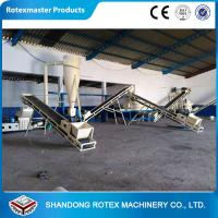 Quality Customized wood pellet production line , biomass pellet machinery 5 tons per hour for sale