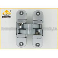 China Zinc Alloy 3D Adjustable Invisible Door Hinges Hardware 180 Degree wholesale