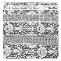 Buy cheap Floral Trident Polka dots Cotton Nylon Lace Fabric For Dressing  152CM Width from wholesalers