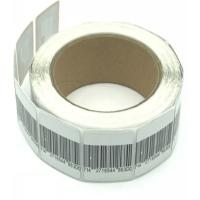 China High Detection Rate Round Security Solution AM Label In Roll / Anti Theft Tag wholesale