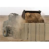 China Heavy Duty Military Hesco Barriers / Hesco Blast Wall Barrier For Army wholesale