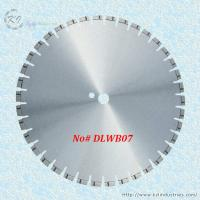 China Laser Welded Diamond Blade for Cutting Reinforced Concrete and Engineering Bricks - DLWB07 wholesale