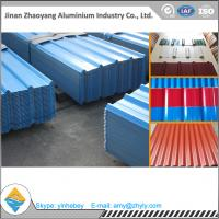 China 1050 1060 1070 1100 Colorful Roofing Aluminium Corrugated Sheet Anticorrosion wholesale